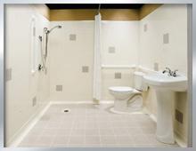 barrierefreies bad seniorengerechte badumbauten protec bau management. Black Bedroom Furniture Sets. Home Design Ideas