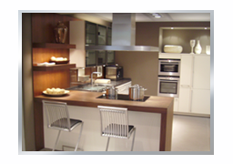 exklusive Kücheneinrichtung
